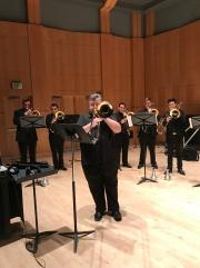 Michael Hoffman at SoCal Trombone Day