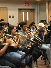Students at SoCal Trombone Day